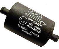 Фильтр тонкой очистки 1 вход 1 выход  d 12 (пластик)