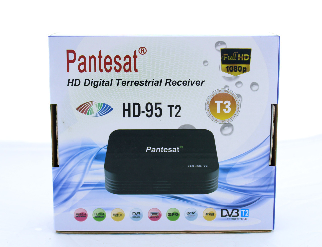 Тюнер DVB-T2 95 HD  с поддержкой wi fi адаптера