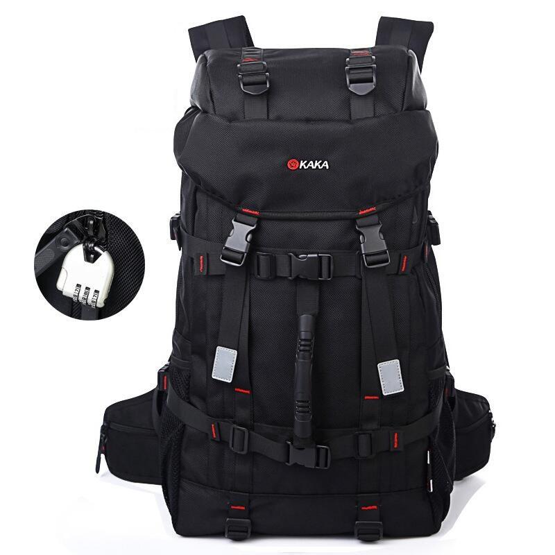 Туристический рюкзак для путешествий Kaka 2010, с кодовым замком, 55л