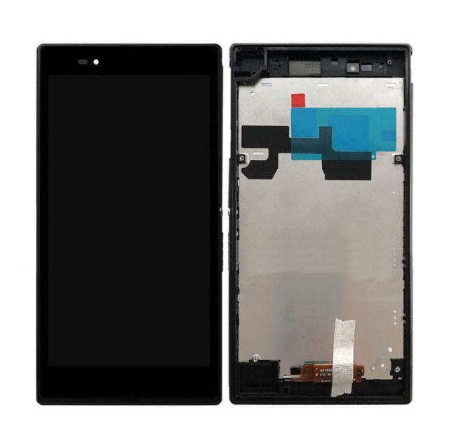 Дисплей модуль Sony Xperia Z Ultra C6802 XL39h, C6806, C6833, чорний, з рамкою