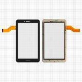 """Сенсорний екран для планшету Tablet PC 7"""", Freelander PD10 3G, PX1, тачскрін 186x105mm 30pin, чорний, #362-A/FM710301KA/M78 F7 F76"""