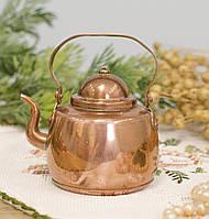 Медный чайник в миниатюре, медь, Швеция, фото 1