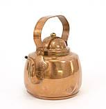 Медный чайник в миниатюре, медь, Швеция, фото 2