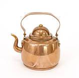 Медный чайник в миниатюре, медь, Швеция, фото 9
