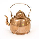 Медный чайник в миниатюре, медь, Швеция, фото 4