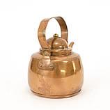 Медный чайник в миниатюре, медь, Швеция, фото 5