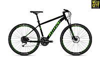 """Велосипед Ghost Kato 4.7 27,5"""" 2019 черно-зеленый, фото 1"""