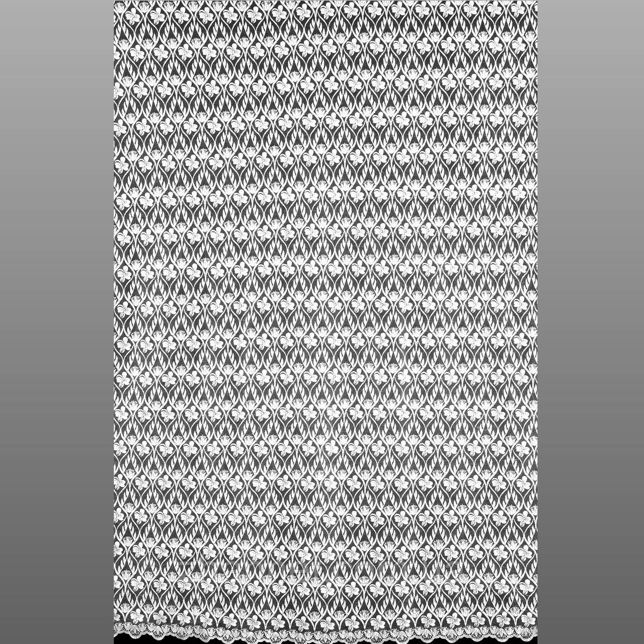 Тюль гіпюр естела про білий 280 см (204301)