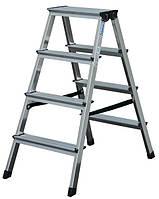 Лестница-стремянка двухсекционная Krause Dopplo 2x4