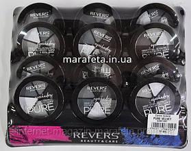 Тени Revers mineral Pure круглые 6в1