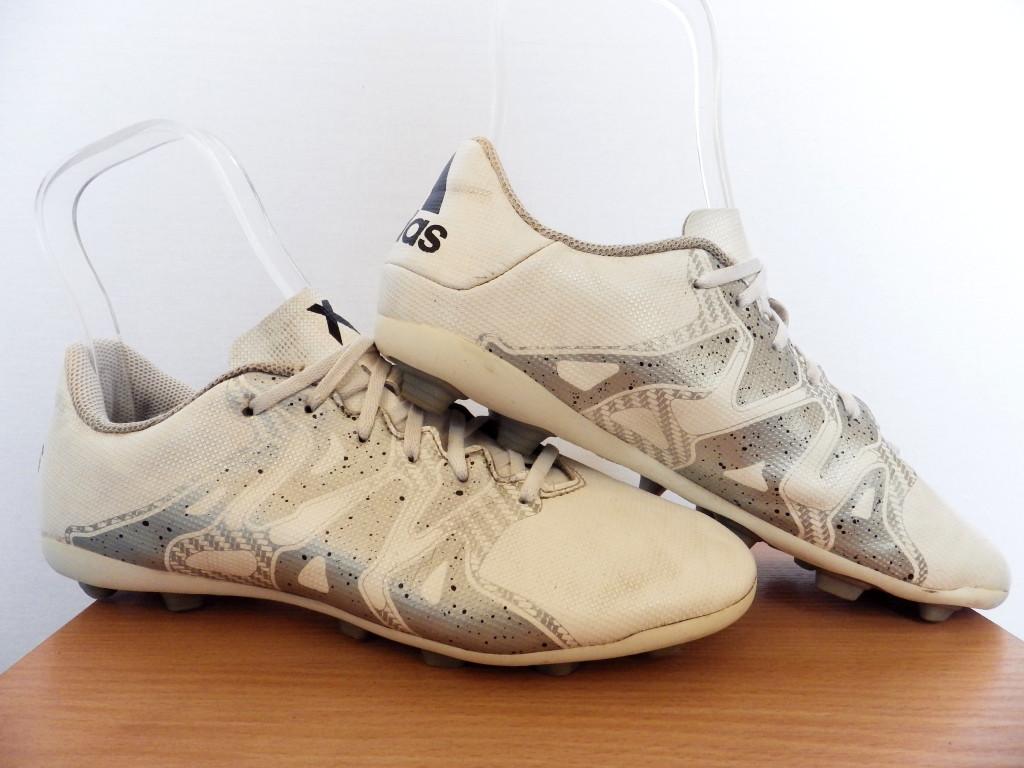 Бутсы детские Adidas X 15.4 FxG 100% Оригинал р-р 38,5 (24,5 см)(сток, б/у) original копы