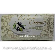 Косметическое туалетное мыло с экстрактом оливы Ti Amo Crema 140г