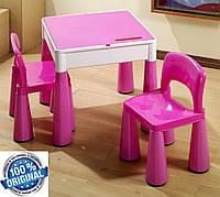 Комплект детской мебели Tega Baby Mamut стол + 2 стула (фиолетовый), фото 1