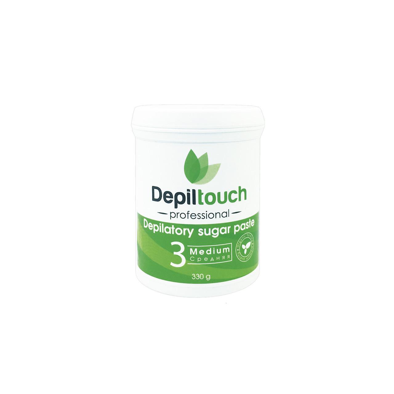 Сахарная паста для депиляции средняя Depiltouch Professional 330g