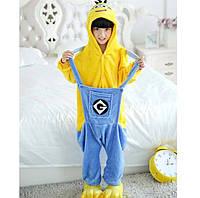 Кигуруми миньон детская пижама , фото 1