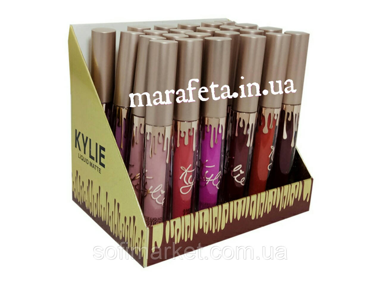 Блеск для губ Kylie Liquid Matte-24шт