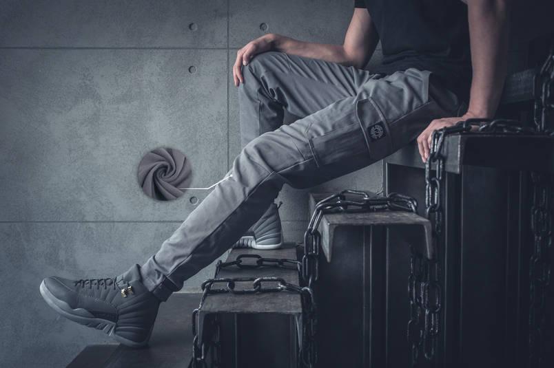 Теплые Карго штаны BEZET Grey '19, фото 2