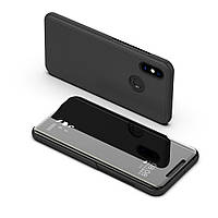 Чехол Mirror для Xiaomi Mi A2 Lite / Redmi 6 Pro книжка Black