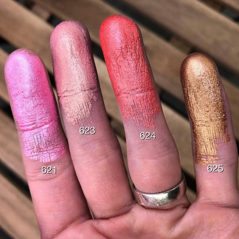MakeUP Secret Тени перламутровые №625 / Shimmer Eyeshadow №625 бронза