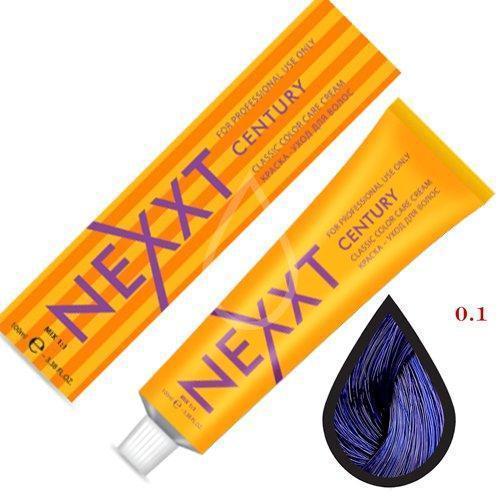 Крем-краска для волос микстон Nexxt Professional 0.1 голубой 100ml