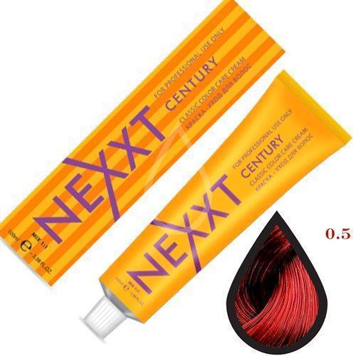 Крем-краска для волос микстон Nexxt Professional 0.5 красный 100ml