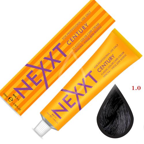 Крем-краска для волос Nexxt Professional 1.0 черный 100ml