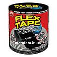 Сверхпрочная водостойкая пленка-скотч Flex Tape Black, фото 5