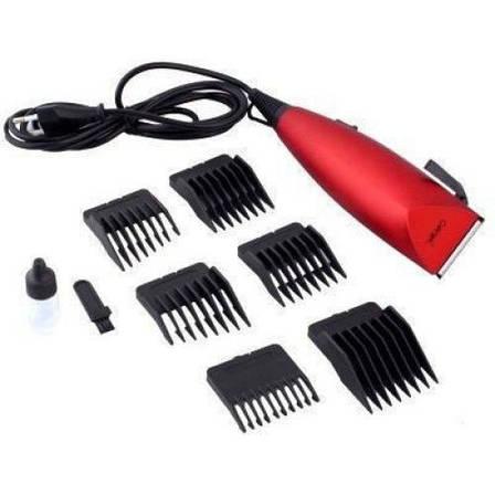 Надежная и качественная машинка для стрижки волос,с шестью насадками. GEMEI GM-1006 CG21 PR3, фото 2