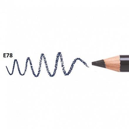 MakeUP Secret карандаш для глаз Е78 темно-синий (матовый)