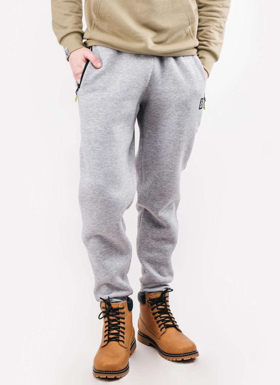 Зимние серые спортивные штаны Urban Planet FLEX W MEL на флисе в наличии р.  ХС ccdb5ffc1d52f