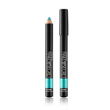 MakeUP Secret стойкий карандаш для глаз (ES81) Turquoise (бирюзовый)