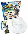 Обучающий лоток для приучения кошек к унитазу CitiKitty Cat Toilet Training, фото 3