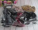 Велюровая резинка со стразами цветная d 10,5 см 12 шт/уп, фото 3