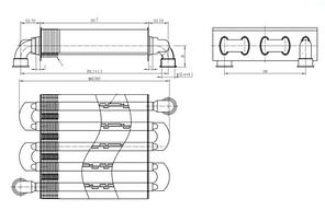 Теплообменник первичный Ariston / Chaffoteaux  65106297, фото 2