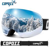 Горнолыжные   сноубордические очки (маска) COPOZZ GOG-2812 UV400 (NEW 2019) 17a6b56d775