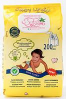 Детские влажные салфетки с экстрактом алое и аллантоином Baby Boom 200 шт