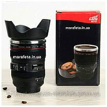 Кружка-мешалка в виде объектива Lens Mug