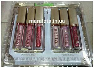Набор жидких мерцающих теней Shimmer&Glitter Stila Eye For Elegance