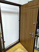 Двери входные 2000*980 мм с порошковой покраской и мдф 16 мм, фото 1