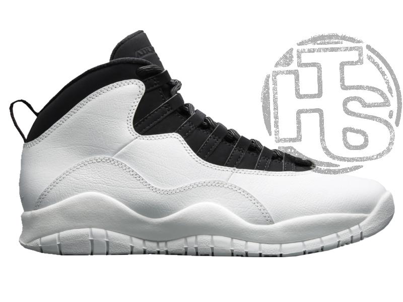 Мужские кроссовки Air Jordan 10 X Retro Im Back Black/White 310805-104