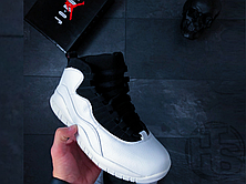 Мужские кроссовки Air Jordan 10 X Retro Im Back Black/White 310805-104, фото 2