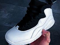 Мужские кроссовки Air Jordan 10 X Retro Im Back Black/White 310805-104, фото 3