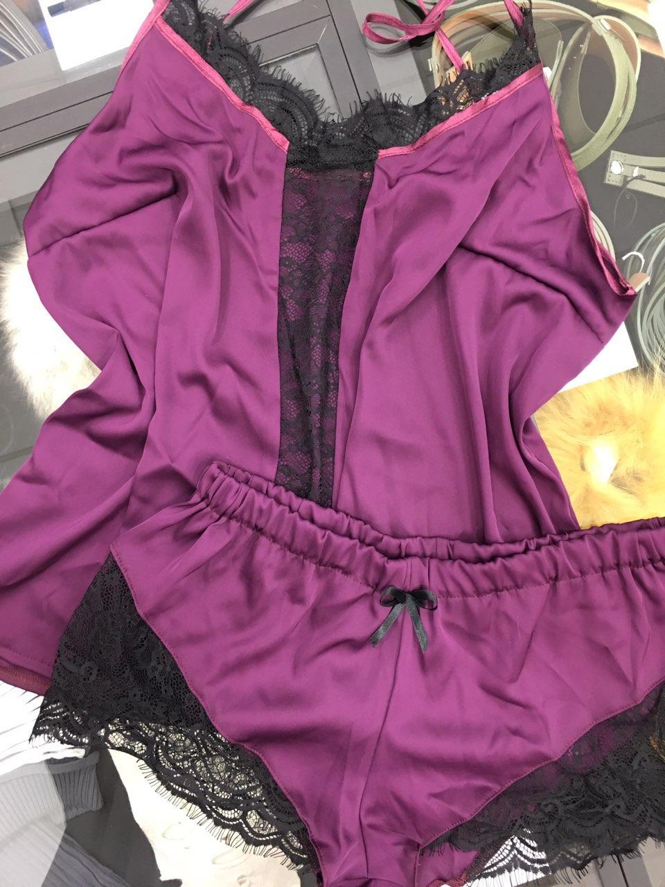 Піжама шовкова Violett   Пижама шелковая Violett