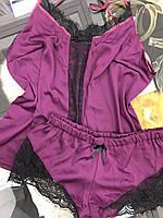 Піжама шовкова Violett   Пижама шелковая Violett, фото 1