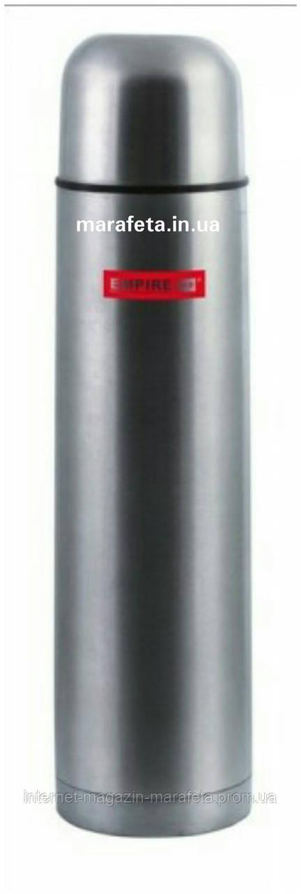 Термос нержавеющий круглый в чехле - 750 мл (шт)