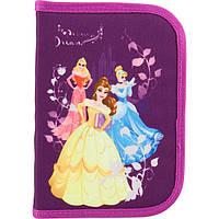 Пенал раскладной-книжка ТМ Kite Princess Фиолетовый 100231TO, КОД: 225819