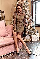 Нарядное платье-сетка, фото 1