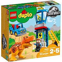 Конструктор LEGO Duplo 10880 Башня Тиранозавра. Оригинал Лего Дупло