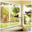 Оконная подвесная кровать для кота Sunny Seat Window Cat Bed, фото 3
