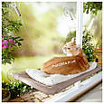 Оконная подвесная кровать для кота Sunny Seat Window Cat Bed, фото 4